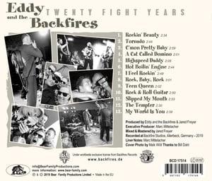 Eddy and the Backfires - Twenty Fight Years (Album CD)