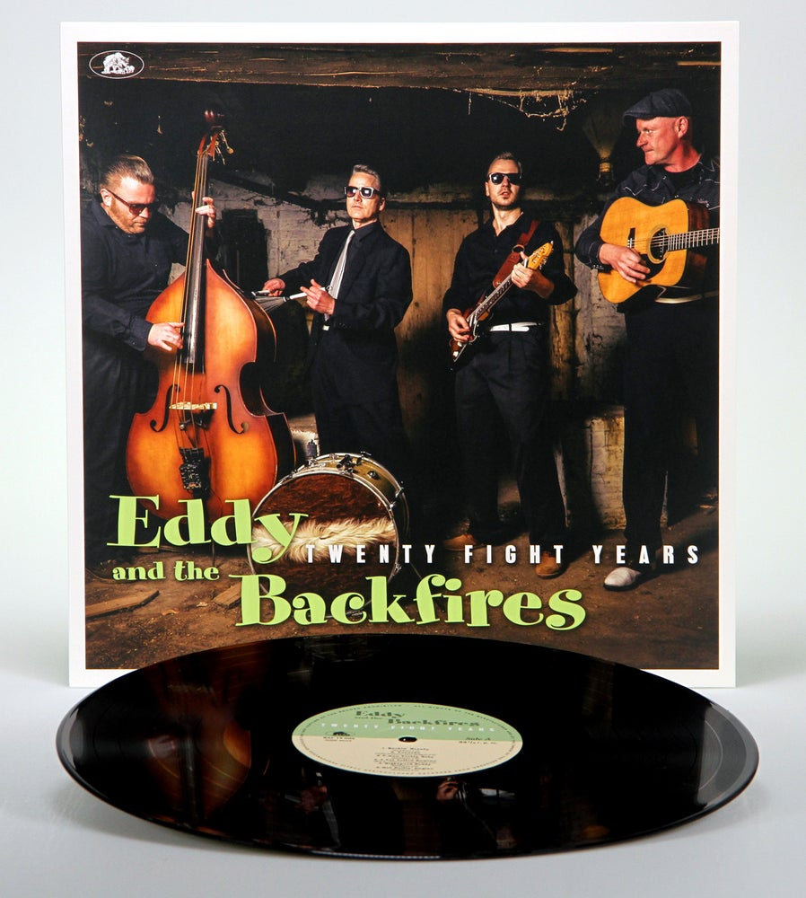 Image of Eddy and the Backfires - Twenty Fight Years LP (Vinyl 180g)
