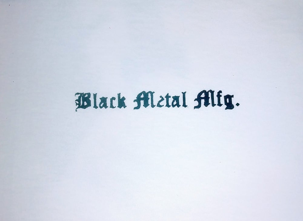 Image of Black Metal Mfg. Tees