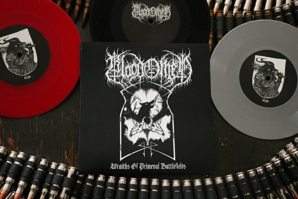 Image of EA003: Blood Omen- Wraiths of Primeval Battlefields 7""