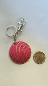 Image of Rubber Concha keychains