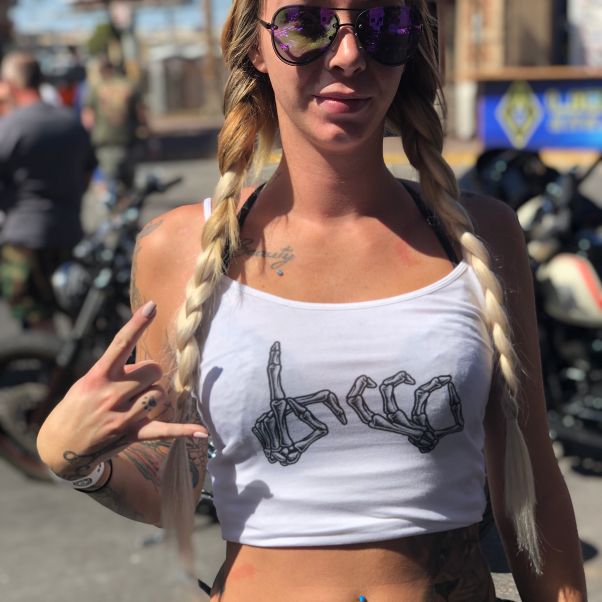Image of Women's Throw your hood up tank