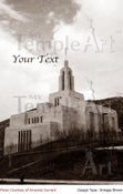 Image of Draper Utah LDS Mormon Temple Art 002 - Personalized LDS Temple Art