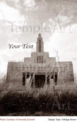 Image of Draper Utah LDS Mormon Temple Art 003 - Personalized LDS Temple Art