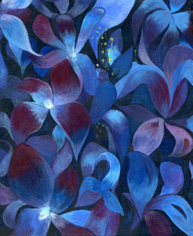 Image of Electric Lilies Print