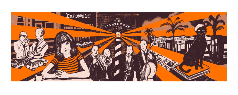 Image of Hermosa Beach Beatniks Print