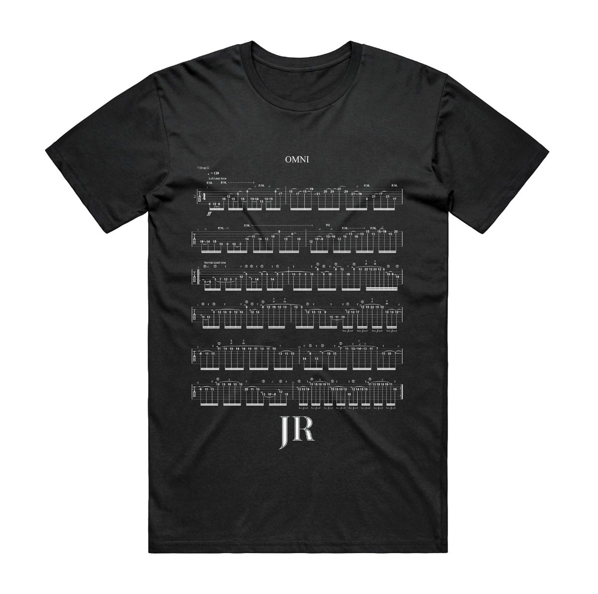 Image of OMNI Guitar Tab Shirt