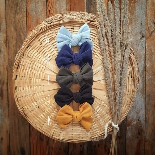 Image of Hand Tied Bows - Cotton/Linen Range