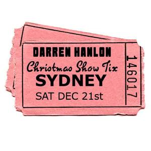 Image of Darren Hanlon - SYDNEY- SATURDAY 21st DEC - $28