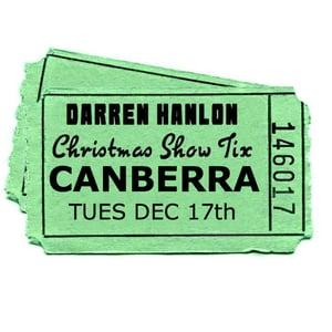 Image of Darren Hanlon - CANBERRA - TUESDAY 17th DEC - $28