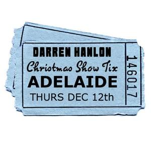 Image of Darren Hanlon - ADELAIDE- THURSDAY 12th DEC - $27