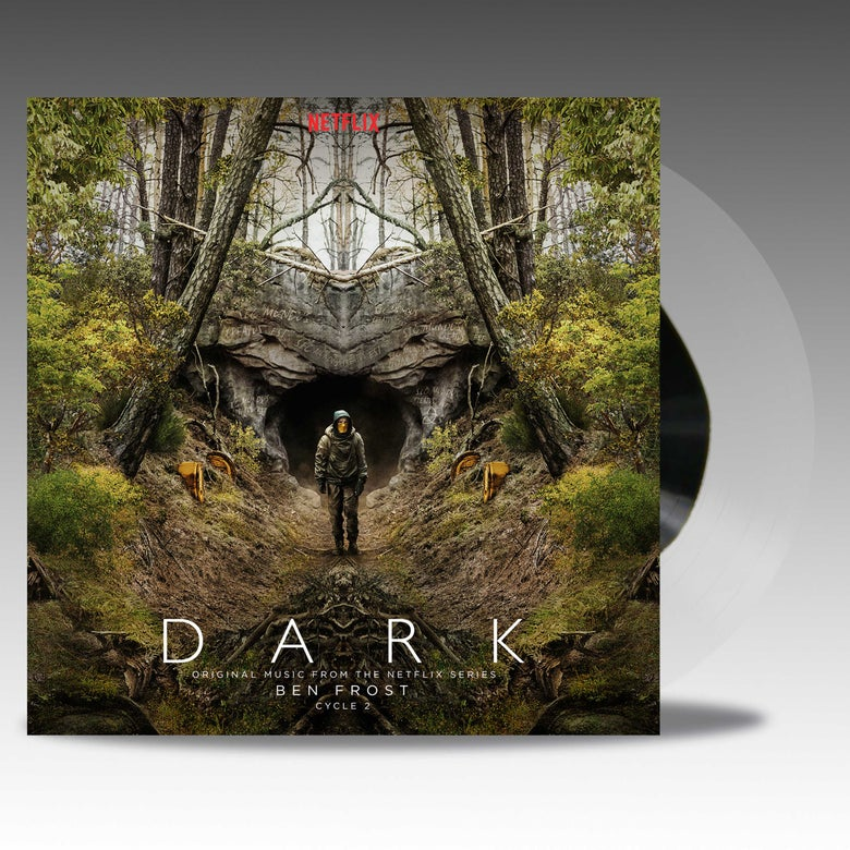 Image of Dark Cycle 2 Original Music From The Netflix Series 'Transparent Natural W/ Black Blob' - Ben Frost