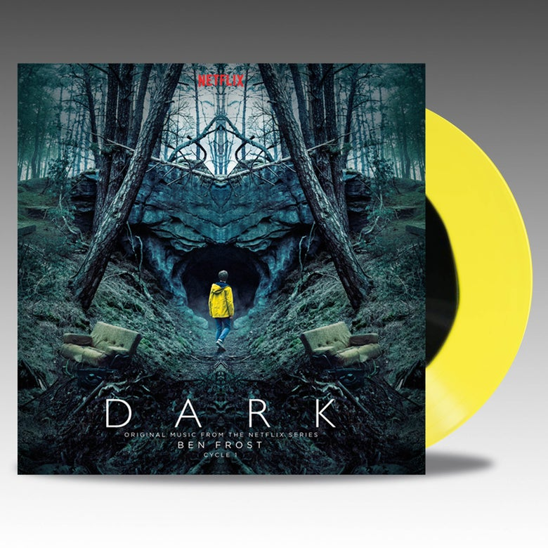 Image of Dark Cycle 1 Original Music From The Netflix Series 'Anorak Yellow W/ Black Blob' - Ben Frost