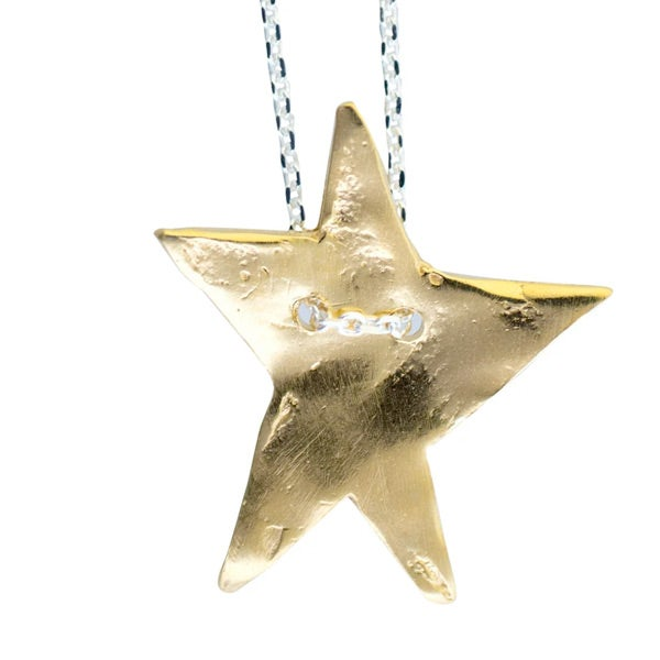 Image of Lucky star charm necklace