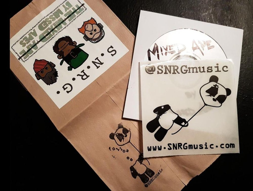 """Image of """"The Mixed Ape by Missed Apes"""" CD (individually packaged and personalized)"""