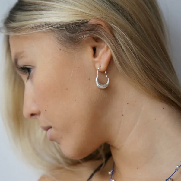 Image of Rosa vintage style hoops