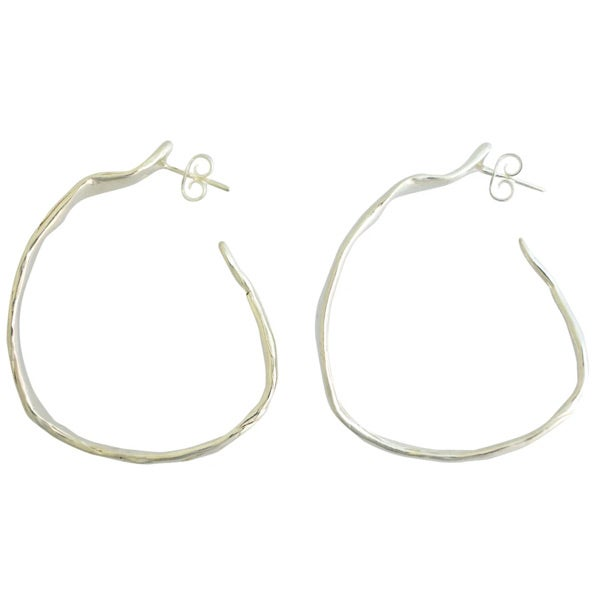 Image of Fabulous wide hoop earrings