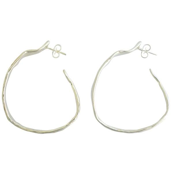 Image of Fabulous wide hoop earrings