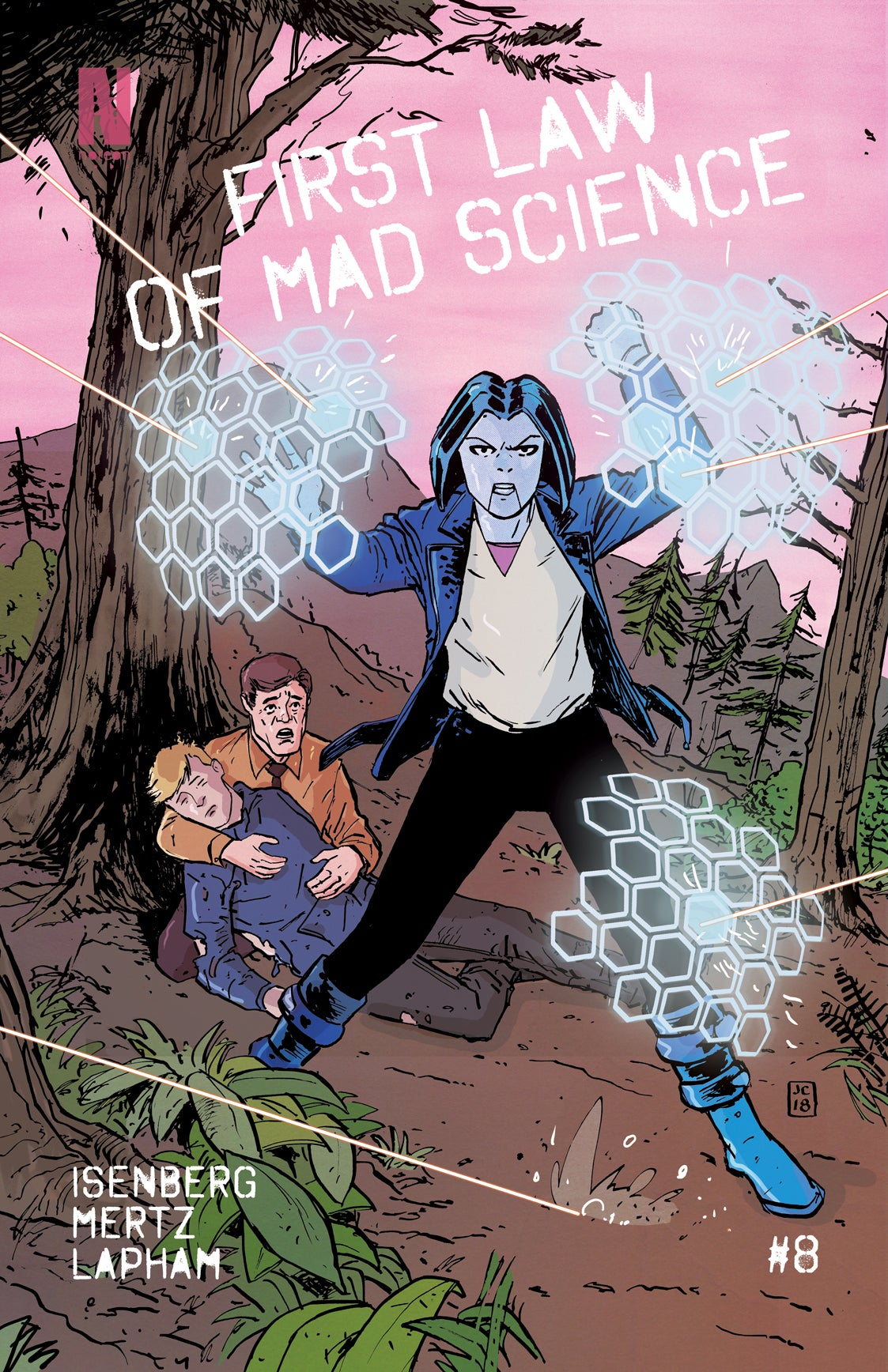 Image of First Law of Mad Science - Issue 8 (REGULAR EDITION)