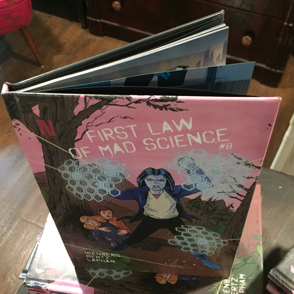 Image of First Law of Mad Science - Issue 8 (Limited Hardcover Edition)