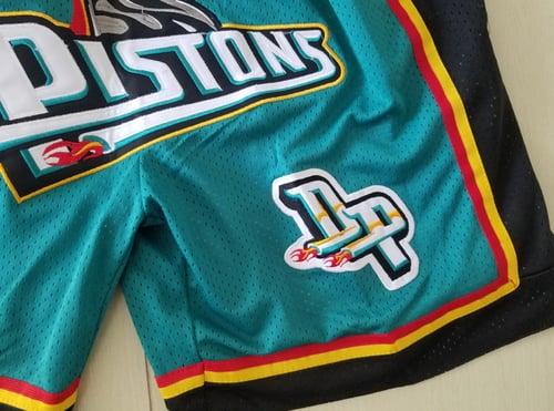 Image of Detriot pistons shorts