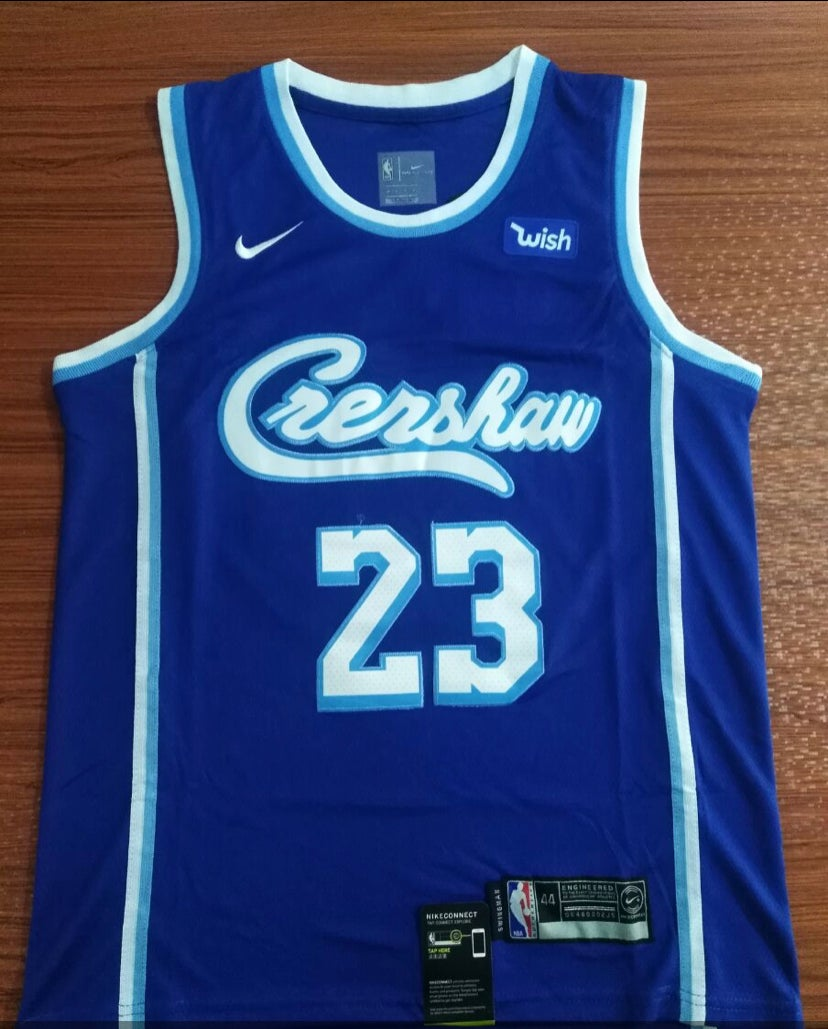 Image of Crenshaw Lakers jersey