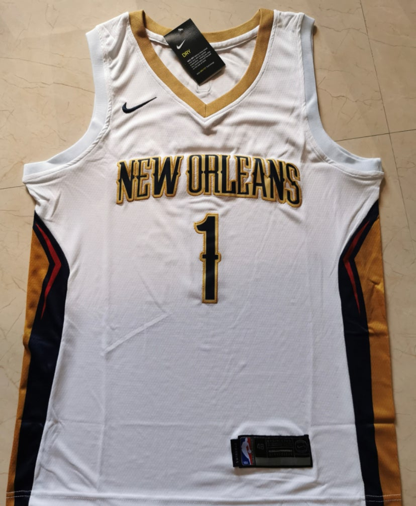 Image of Zion Williamson pelicans Jersey