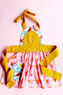 Image 3 of the ICE CREAM SODA apron PDF pattern women's + kids sizing
