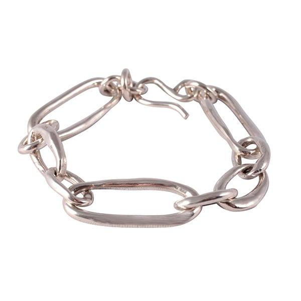 Image of Carolina bracelet in solid sterling silver