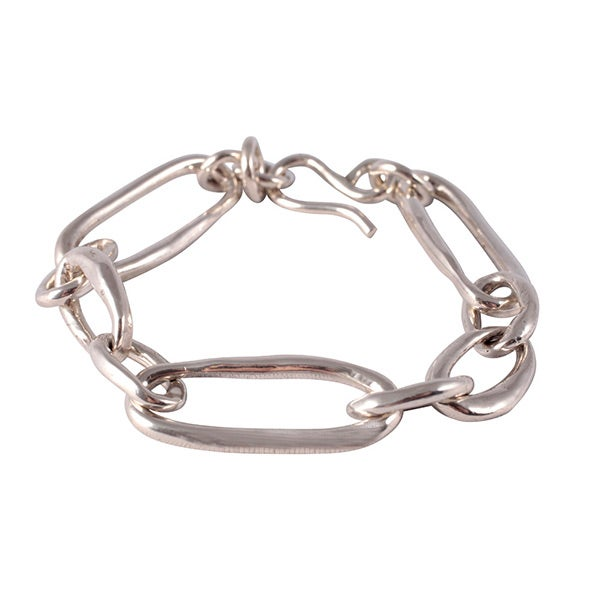Image of Carolina bracelet in solid sterling silver