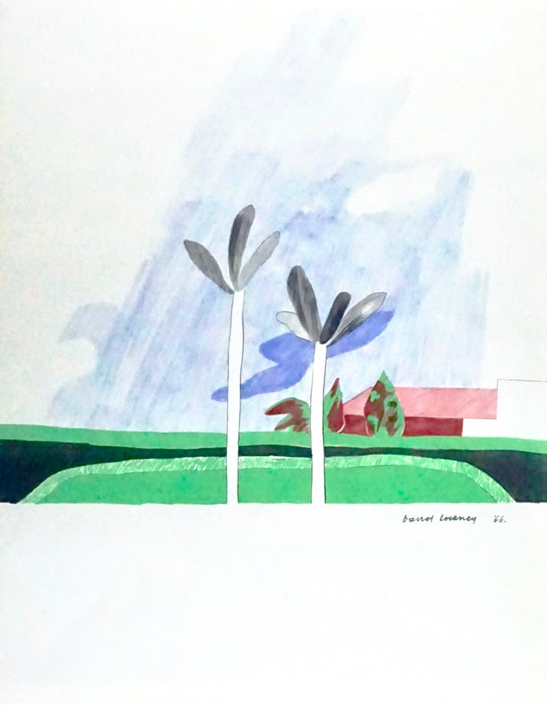 Image of 20/702 david hockney / california scene