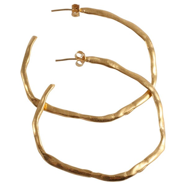 Image of Carmen very large hoop earrings