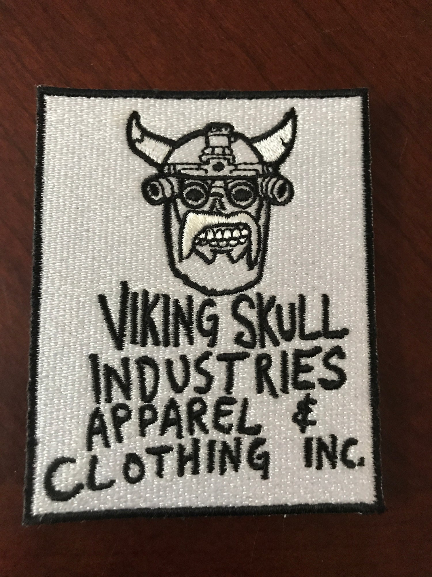 Image of VIKING SKULL INDUSTRIES APPAREL & CLOTHING INC. PATCH