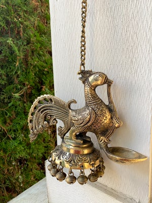 Image of Exquisite hanging Bird Lamp