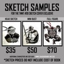 Image of TMNT #99 - EPIKOS COMICS EXCLUSIVE SKETCH COVER VARIANT