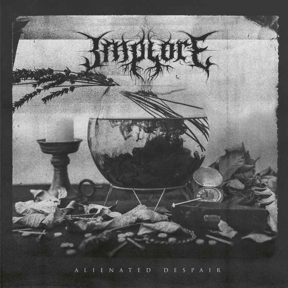 IMPLORE - Alienated Despair / VINYL LP (silver + clear smoke, ltd. 500)