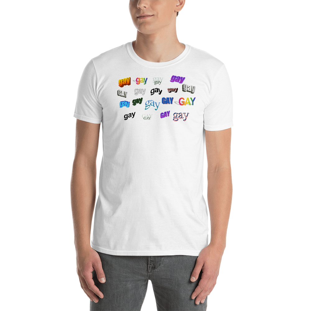 Image of GAY WordArt T-Shirt