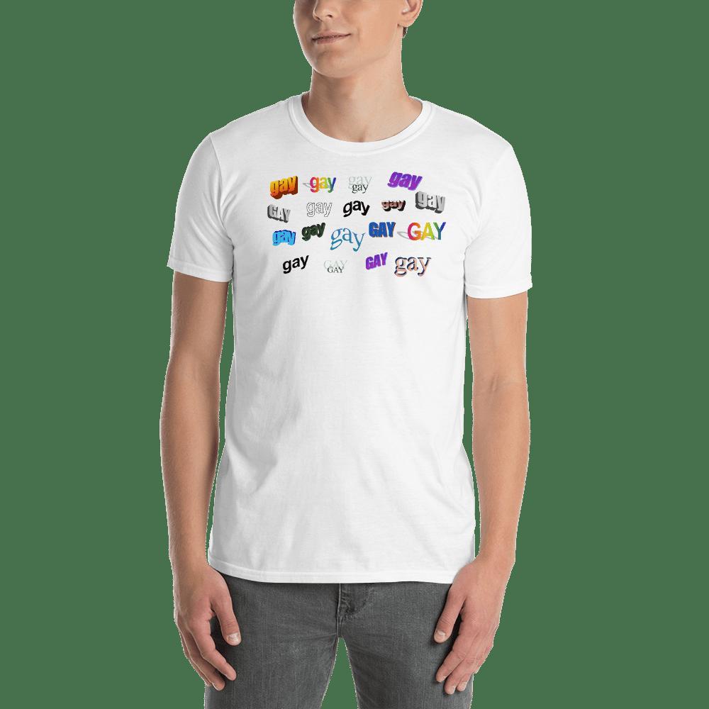 Image of GAY WordArt T-Shirt