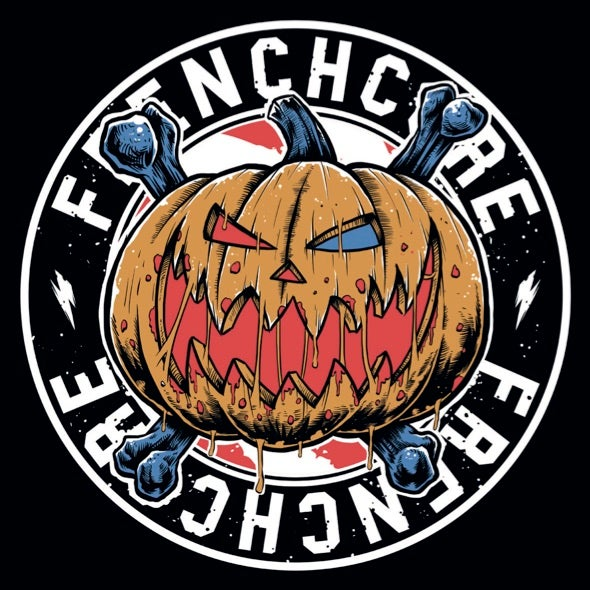 Image of Frenchcore Pumpkin Sticker