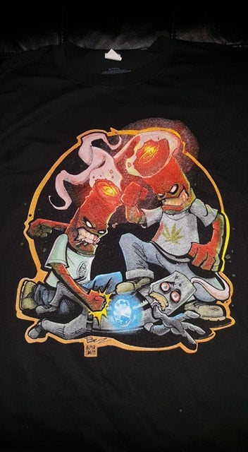 Image of 2 MANY BLUNTS BLUNT BEATDOWN T SHIRT (IN STOCK)