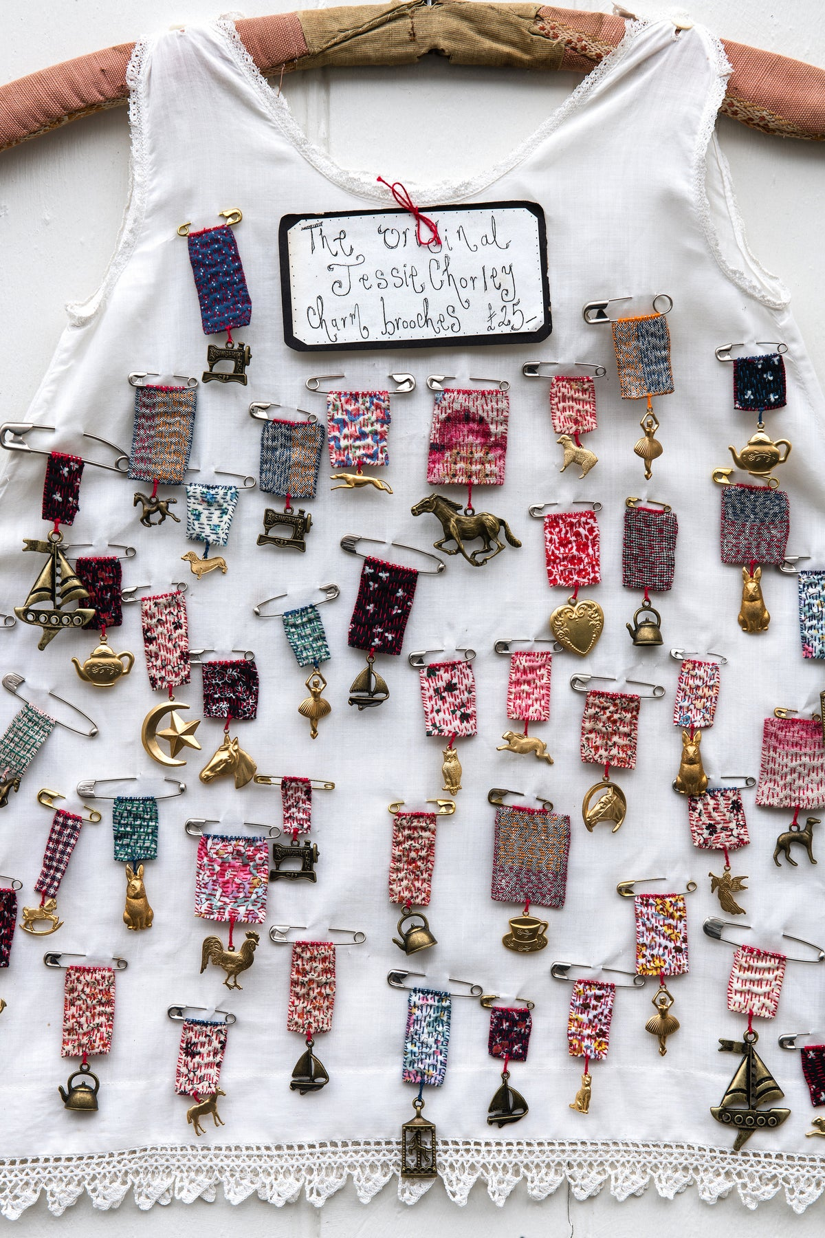 Image of The original Jessie Chorley Charm brooches