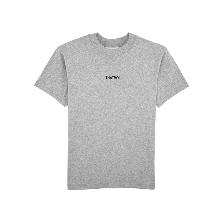 Image of thatboii blurred tee - grey