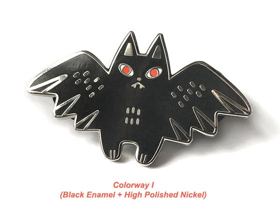 Image of Tiny Fangs Hard Enamel Pin