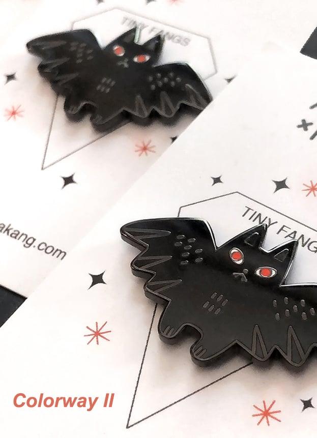 Image of Tiny Fangs Hard Enamel Pin