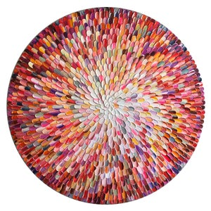 Image of Orbis bloom III - 90x90cm