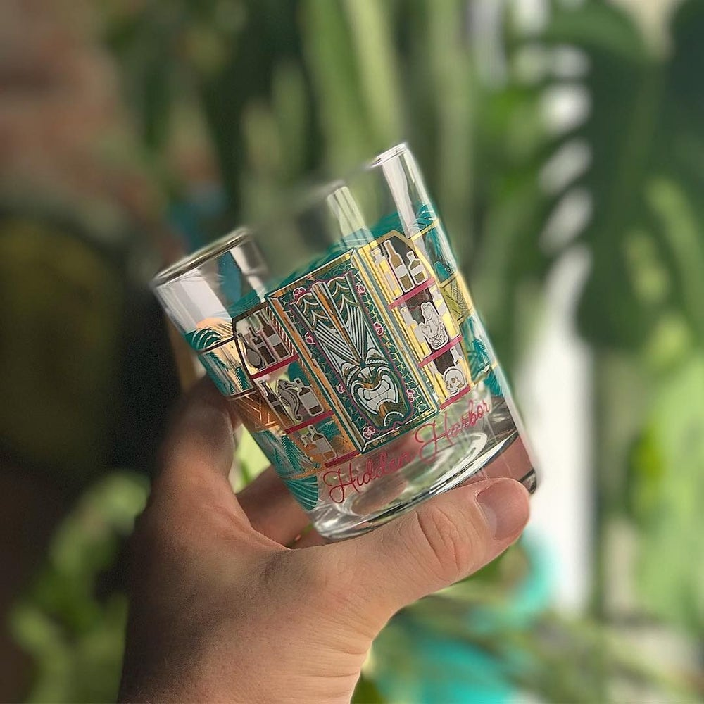 Image of Hidden Harbor<br>Mai Tai Glass