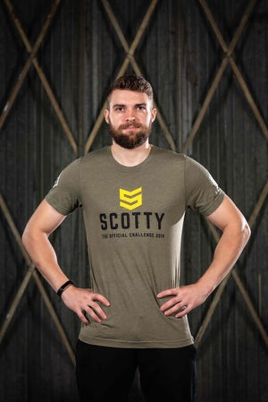 Image of The SCOTTY Challenge Official 2019 tee