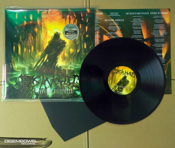 Image of  DISAVOWED 'Stagnated Existence' LP