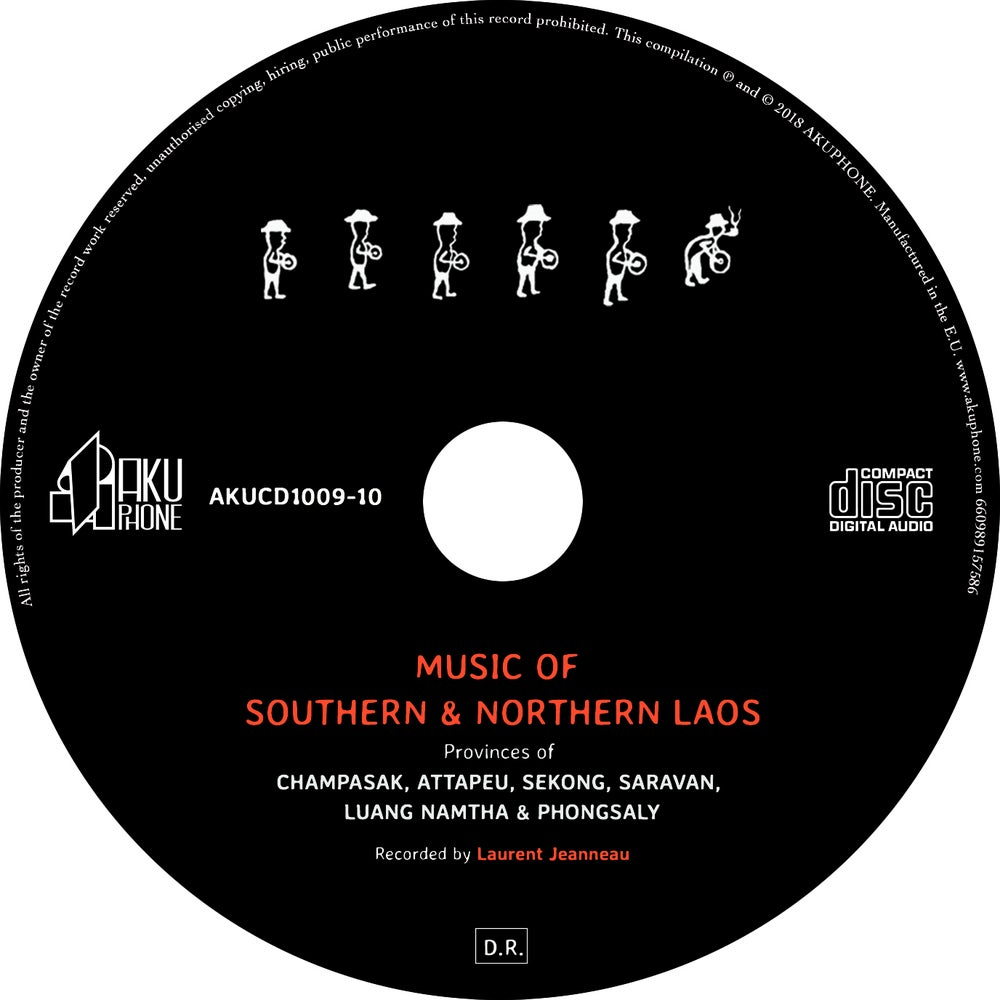 Image of Music of Southern and Northern Laos (AKUCD1009-10)