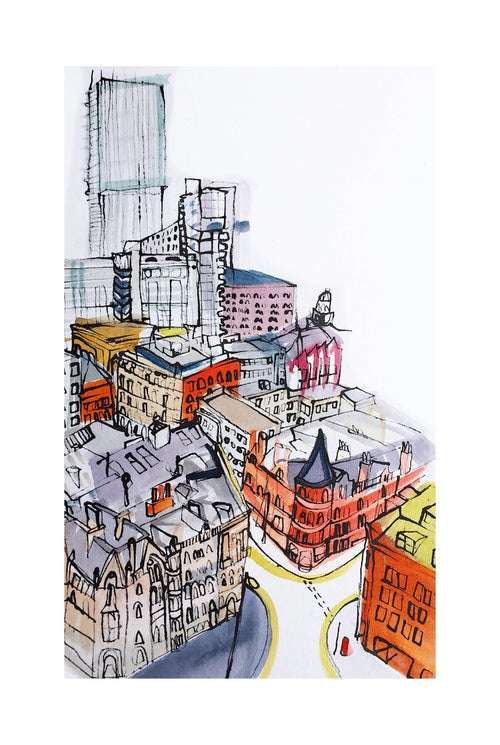 Image of Beetham Tower Cityscape.